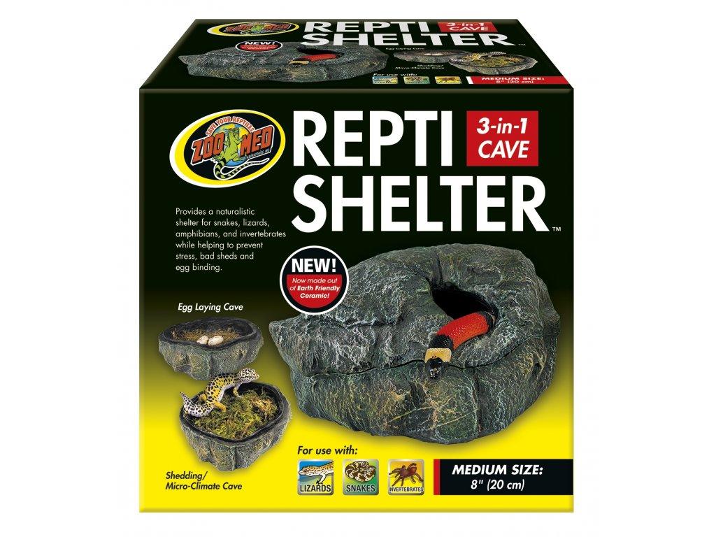 ZMD skrýš Repti Shelter 3v1 Cave M