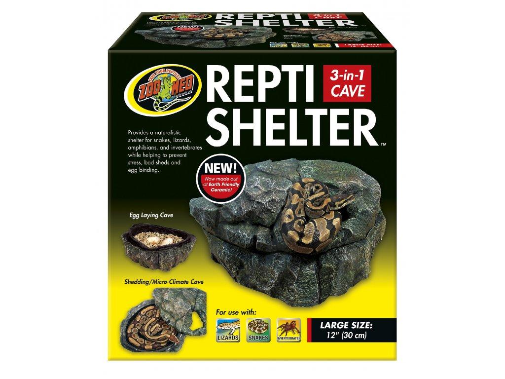 ZMD skrýš Repti Shelter 3v1 Cave L