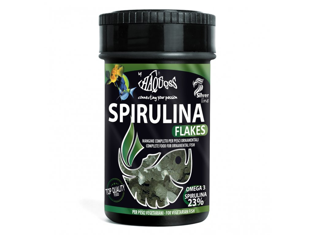 Haquoss SPIRULINA & CHLORELLA FLAKES 100ml