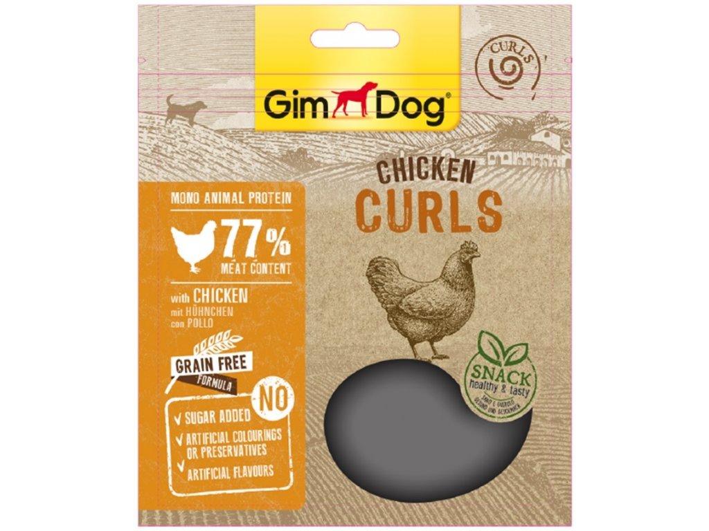 GIMDOG Superfood kureci vlnky 55g (expirace: 19.3.2021)
