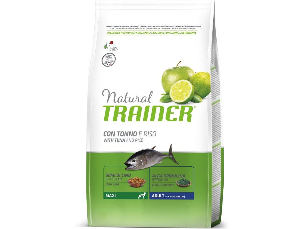 TRAINER Natural Maxi Adult Ryba a ryze 3kg