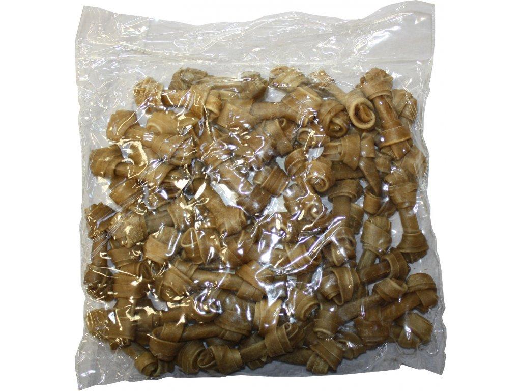 Huhubamboo uzlova kost Natural 7,5cm 50ks (bal.)