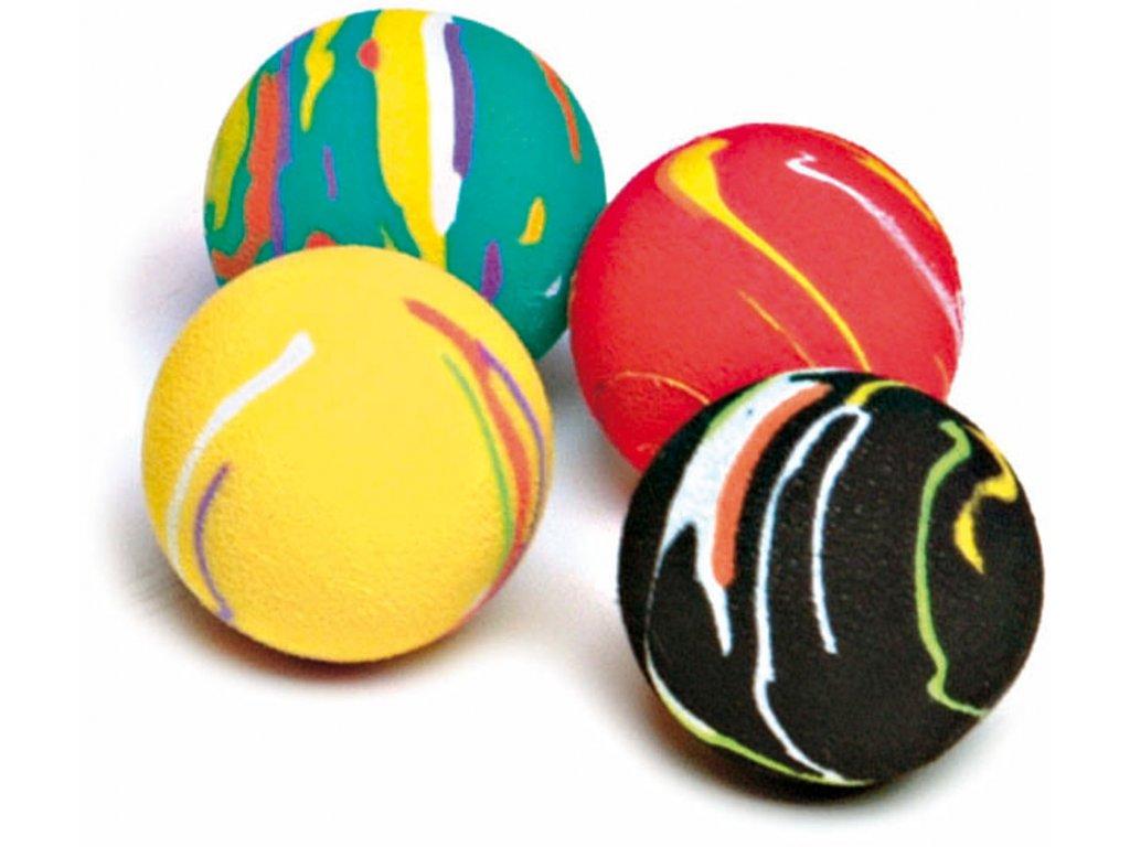 Sada penových míčů pro kočky (4 ks)