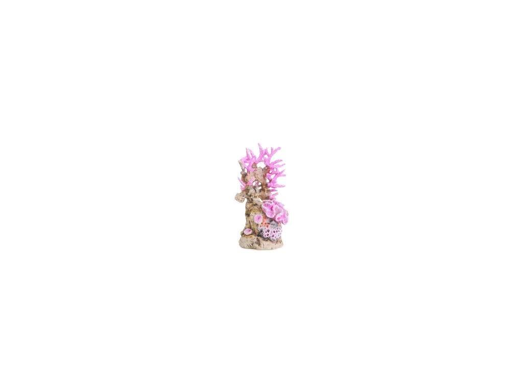 BIORB akvarijní dekorace růžový útes