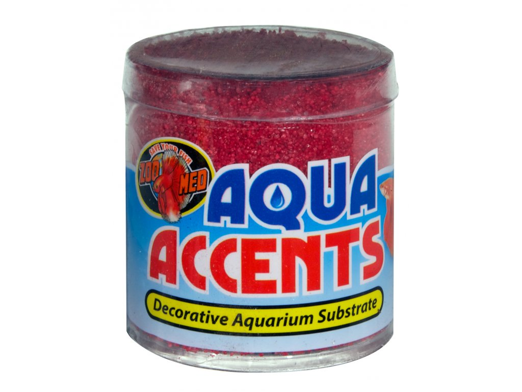 Aqua Accents kamínky radikální červený