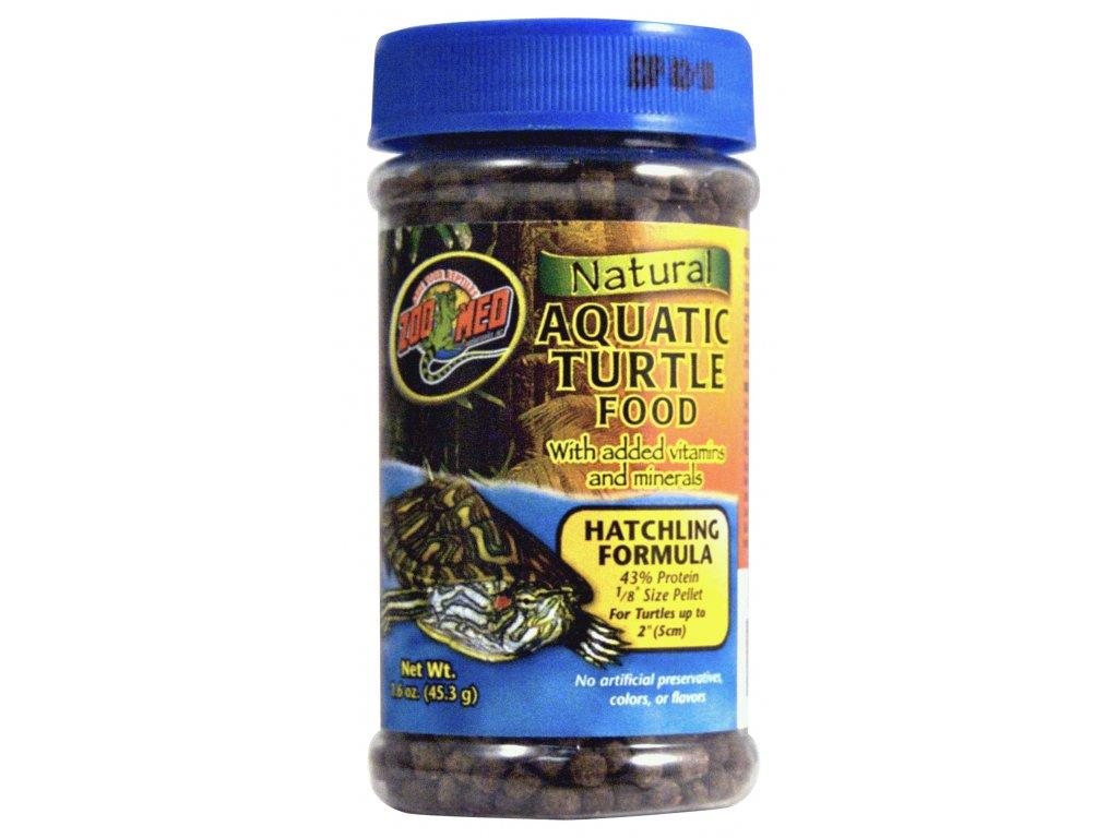 Krmivo Natural Aquatic Turtle Food pro vodní želvy (micro pellet) – líhnoucí