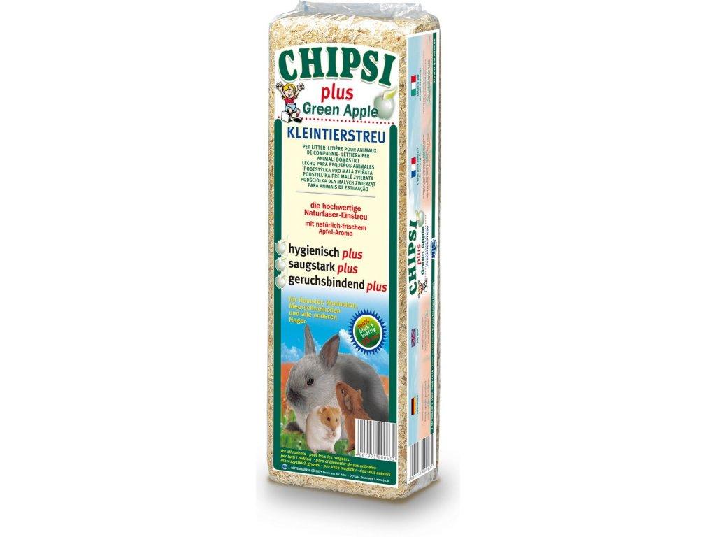 Cat's Best Chipsi Green Apple podestýlka 15l