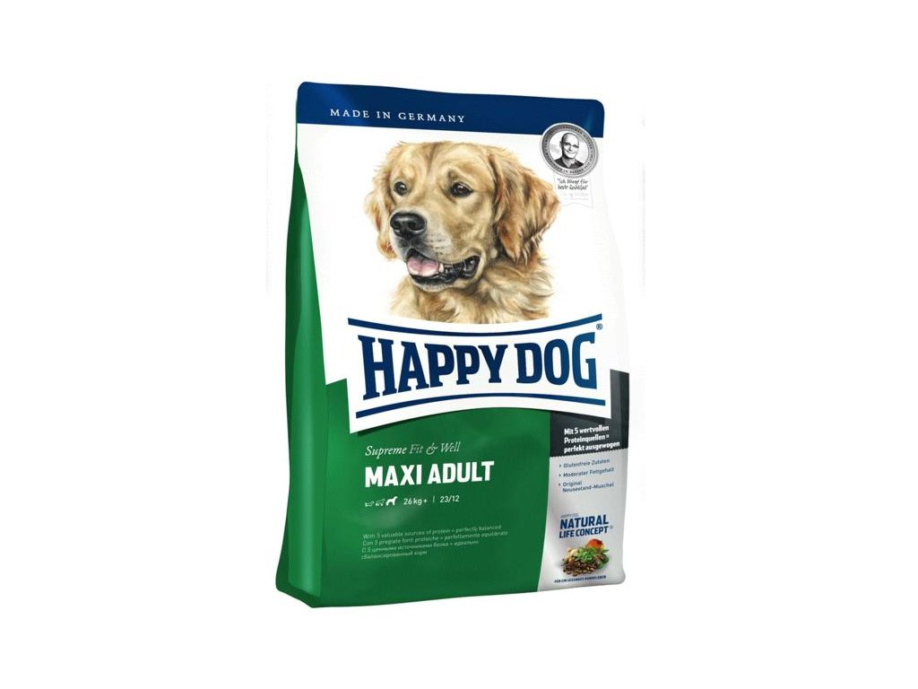 Happy dog Supreme FIT&WELL MAXI ADULT 15kg