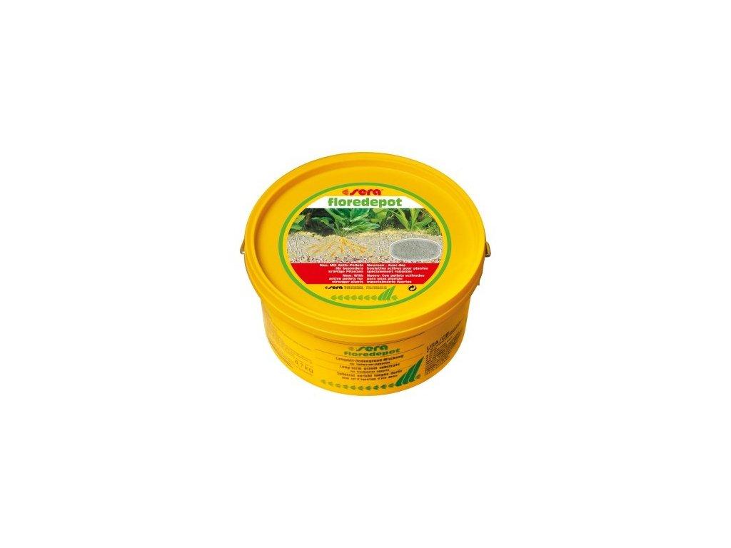 Sera výživný substrát pro rostliny při zakládání akvária Florefepot 4,7kg