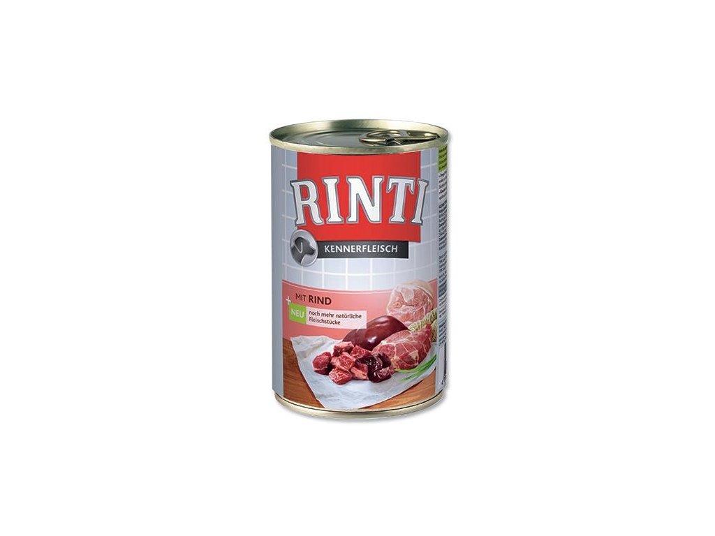 Finnern Rinti konzerva pro psy hovězí 400g