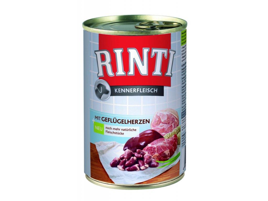 Finnern Rinti konzerva drůbeží srdce 400g