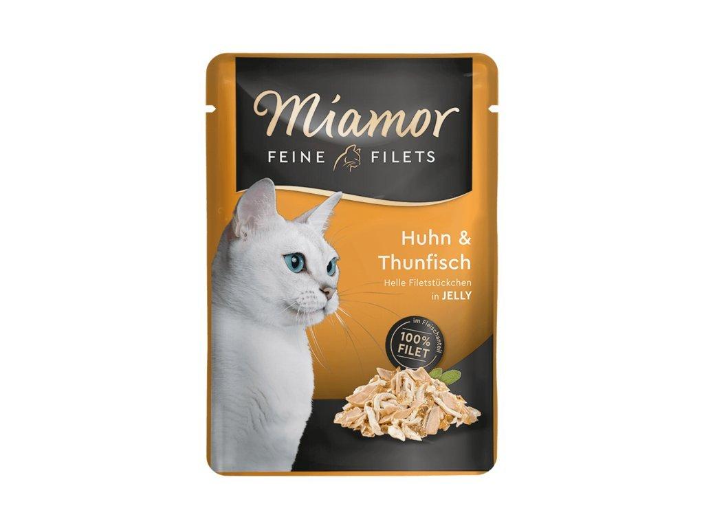 Finnern Miamor Fine Finest kuře+tuňák kapsička 100g