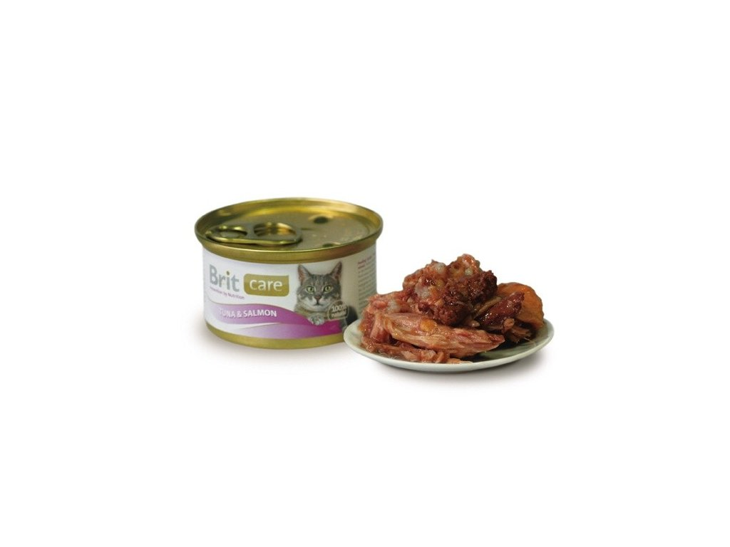 Brit Care konzerva Tuna&Salmon 80g