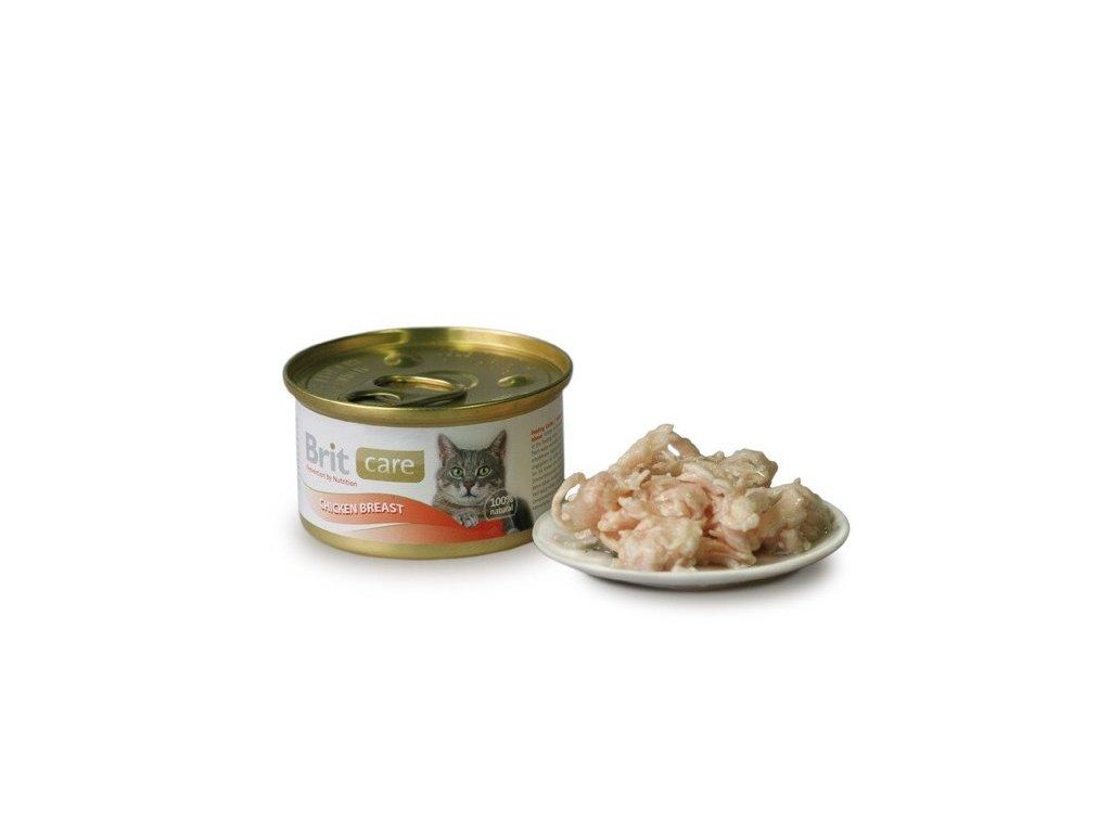 Brit Care konzerva Chicken Breast 80g