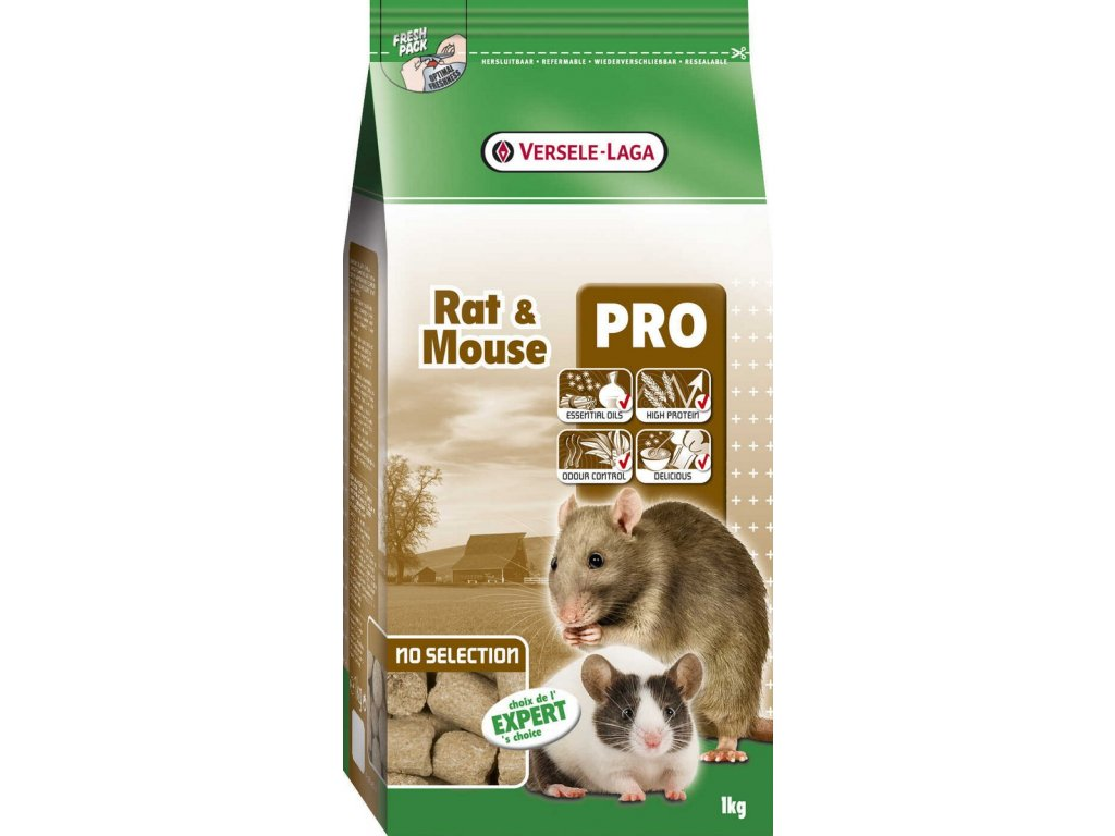 Versele-Laga Crispy Pellets pelety pro myši a potkany 1kg