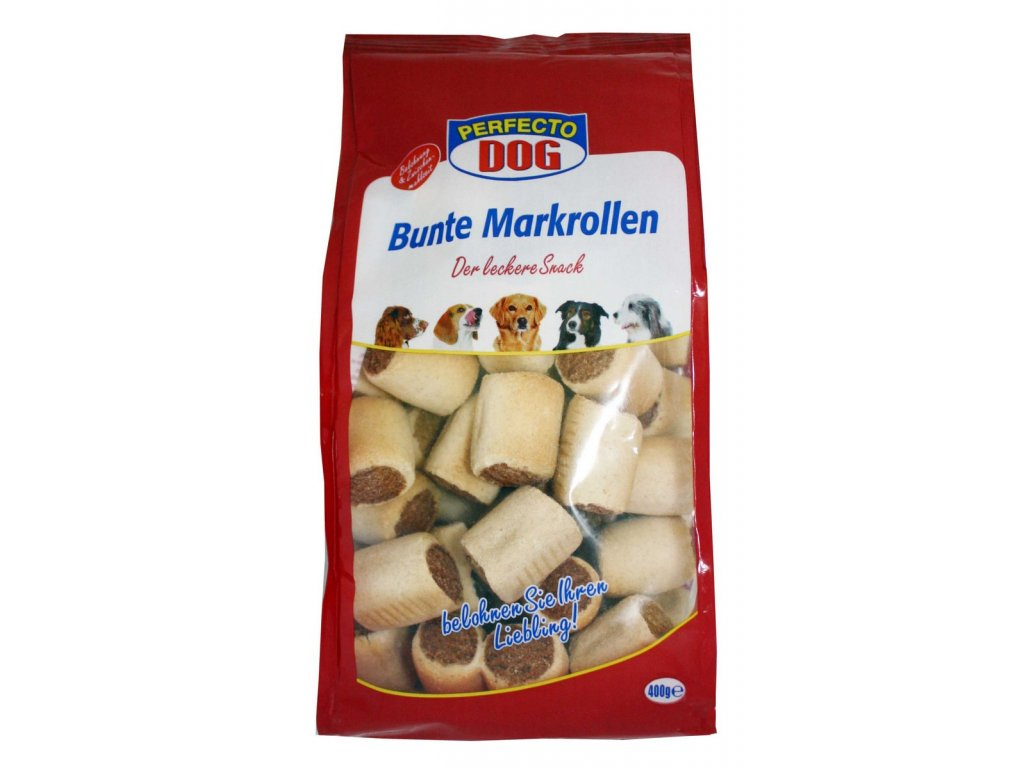 Perfecto Dog sušenky mark-rollen 400g
