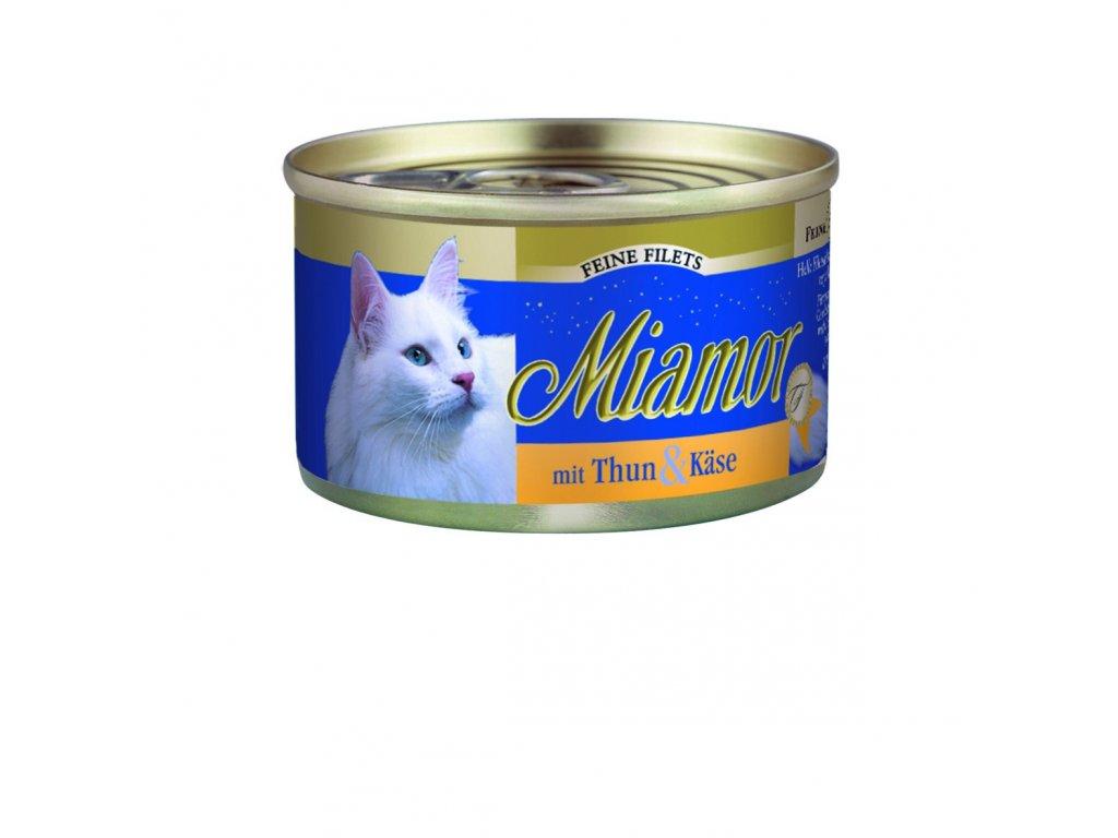 Finnern Miamor Fine Finest tuňák+sýr konzerva 100g
