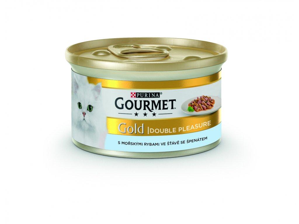 Gourmet Gold s mořskými rybami 85g