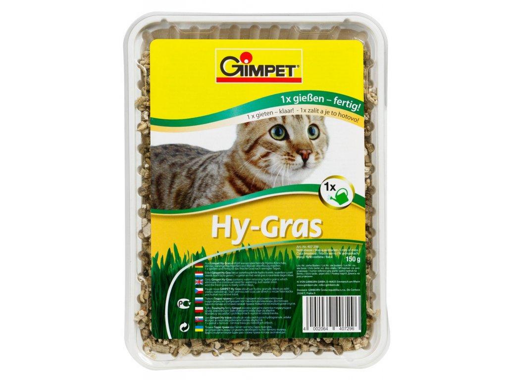 Gimpet Hy-Gras tráva pro kočky 150g