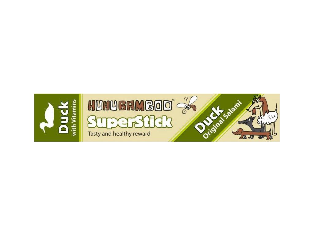 Huhubamboo Superstick - Kachní salám 12g