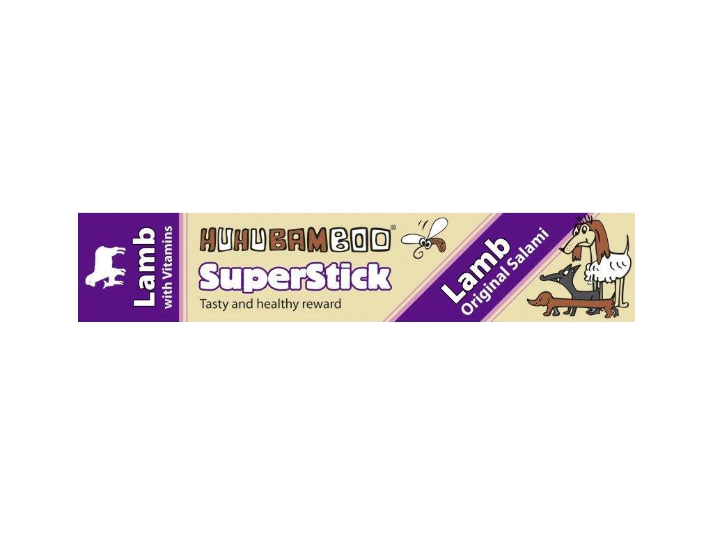Huhubamboo Superstick - Jehněčí salám 12g
