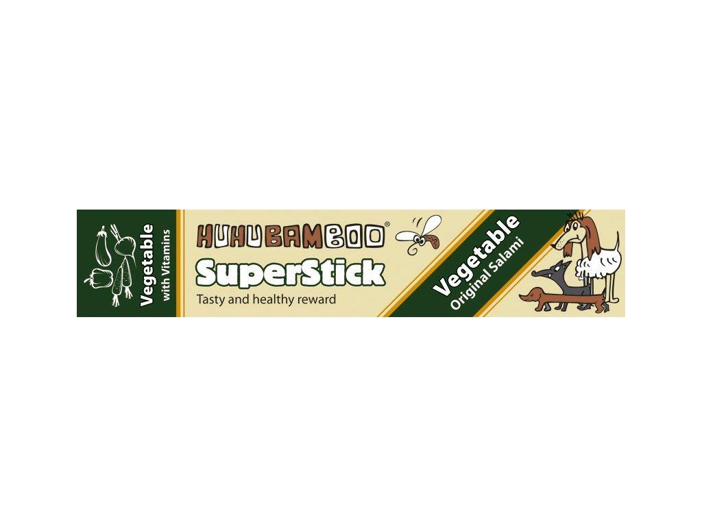 Huhubamboo Superstick - Zeleninový salám 12g