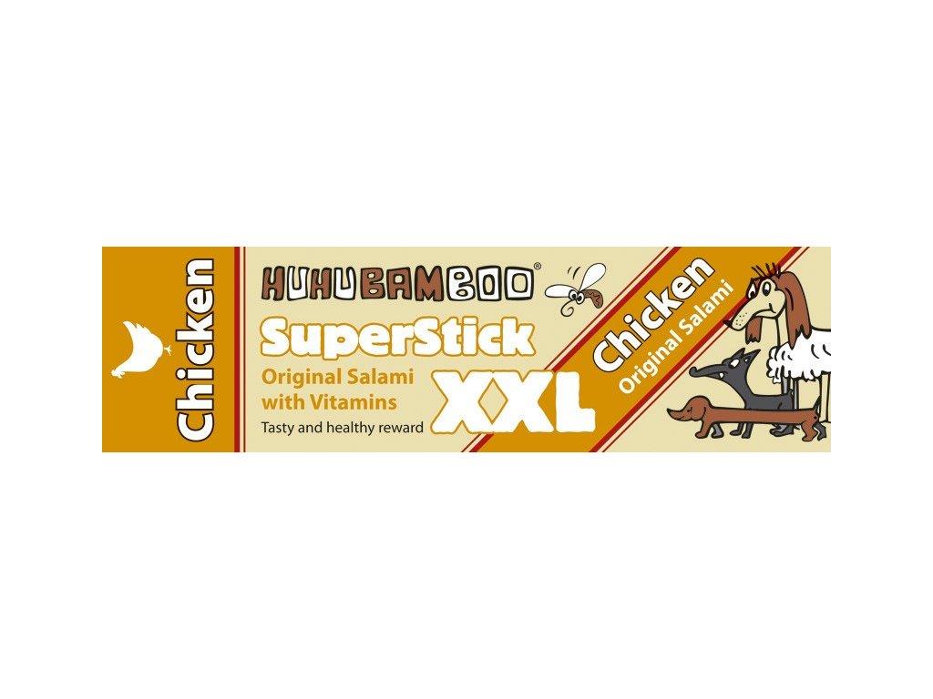 Huhubamboo Superstick - Kuřecí salám XXL 30g