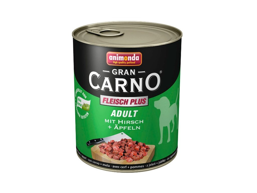 Animonda GranCarno Adult konzerva pro psy jelení+jablko 400g