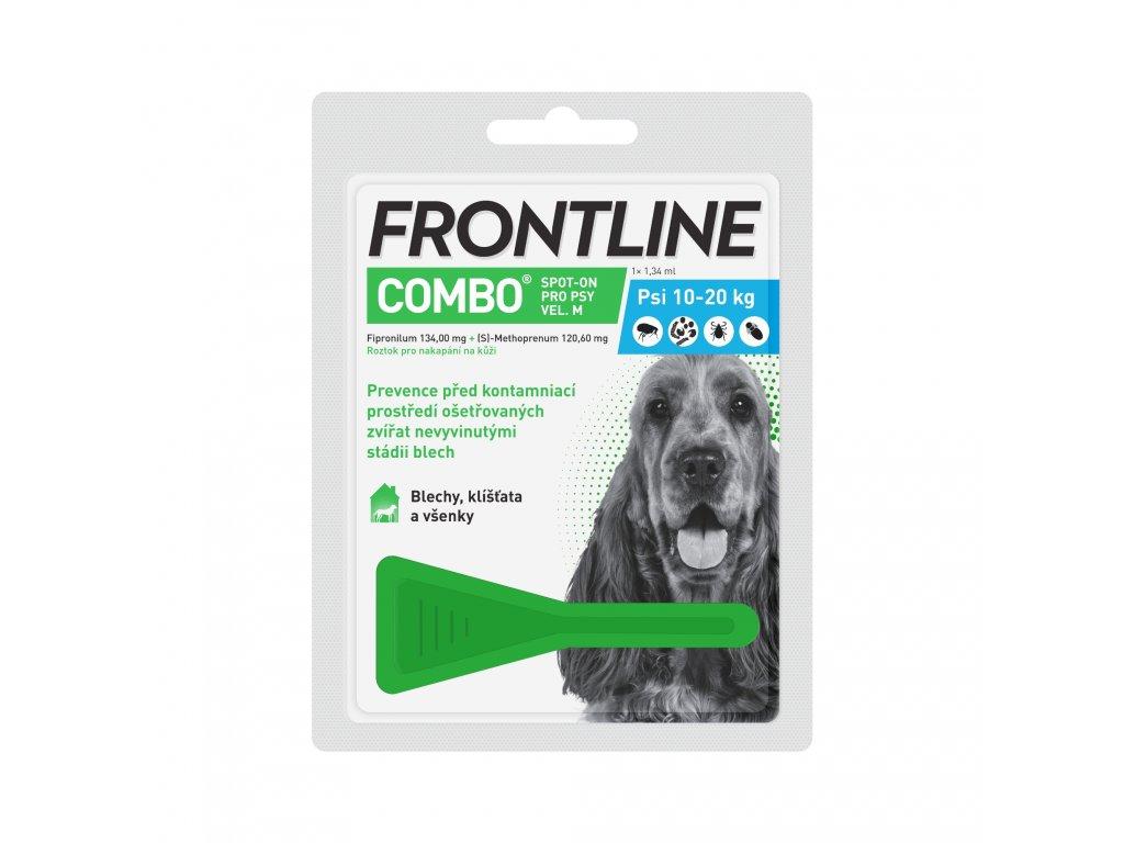 Frontline spot-on Combo pro psy M (10-20 kg)