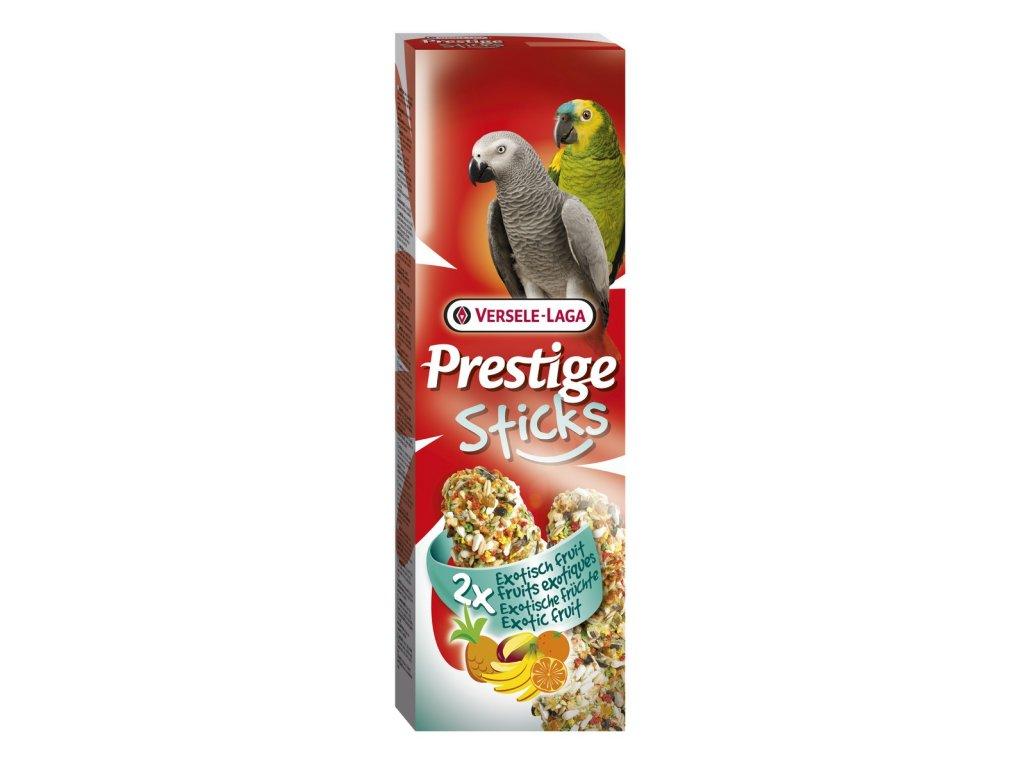 Prestige Sticks Fruits tyčinky pro velké papoušky 2ks