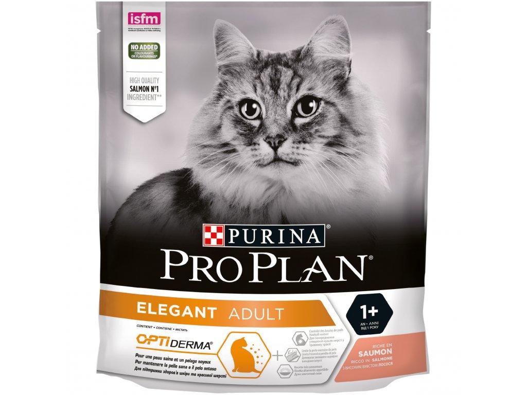 Purina Pro Plan Cat Elegant Plus losos 400g