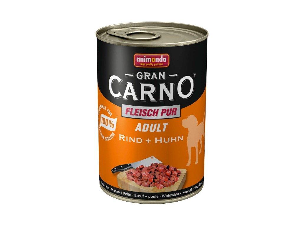 Animonda GranCarno Adult konzerva pro psy hovězí+kuře 800g