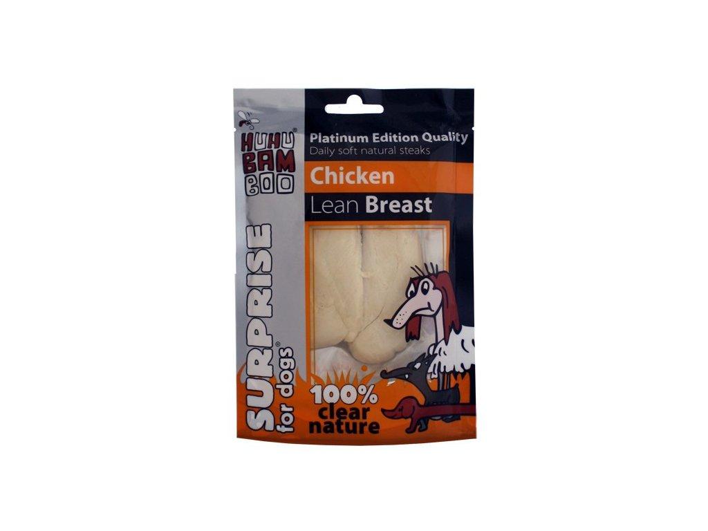 Huhubamboo Platinum Dog - Kuřecí libová prsíčka 50g