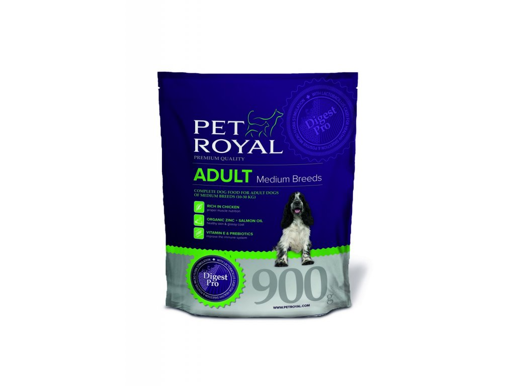 Pet Royal Adult Dog Medium Breeds 0,9kg