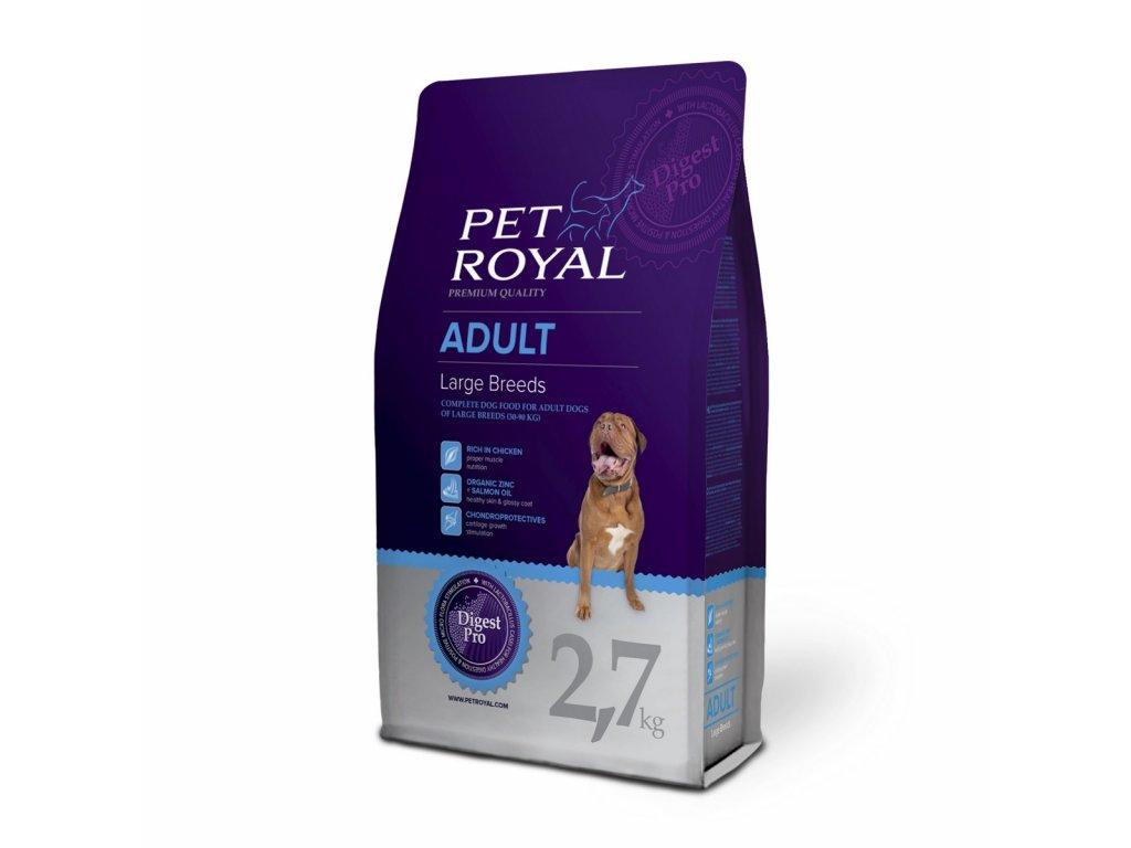 Pet Royal Adult Dog Large Breeds pro velká plemena 2,7kg