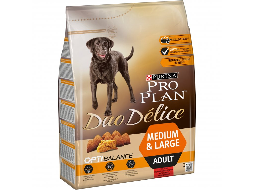 Purina Pro Plan Duo Delice Adult Beef 2,5kg