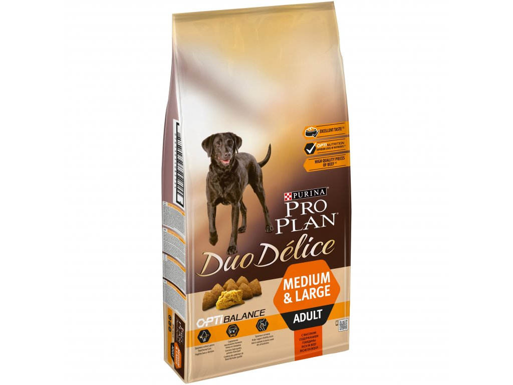 Purina Pro Plan Duo Delice Adult Beef 10kg