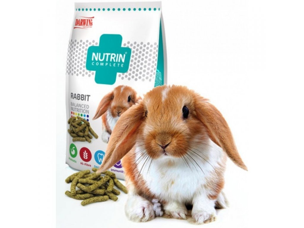 Darwin's Nutrin Complete králík Vegetable 400g