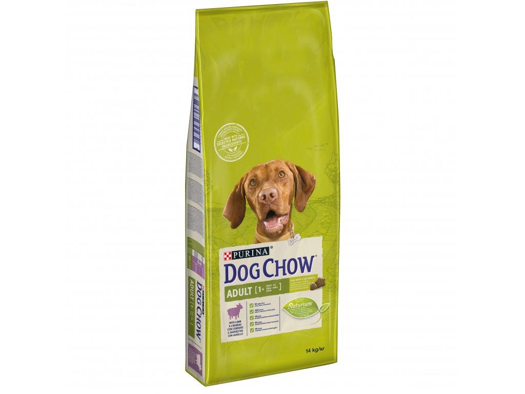 Dog Chow Adult jehněčí s rýží 14kg