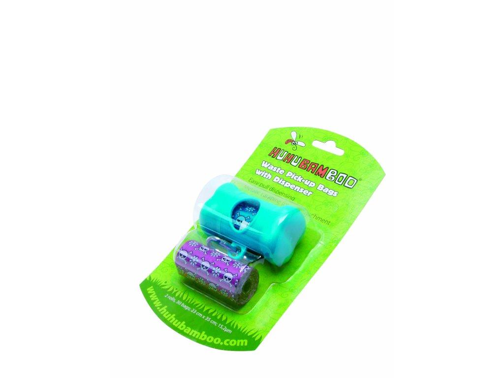Huhubamboo zásobník na sáčky na exkrementy