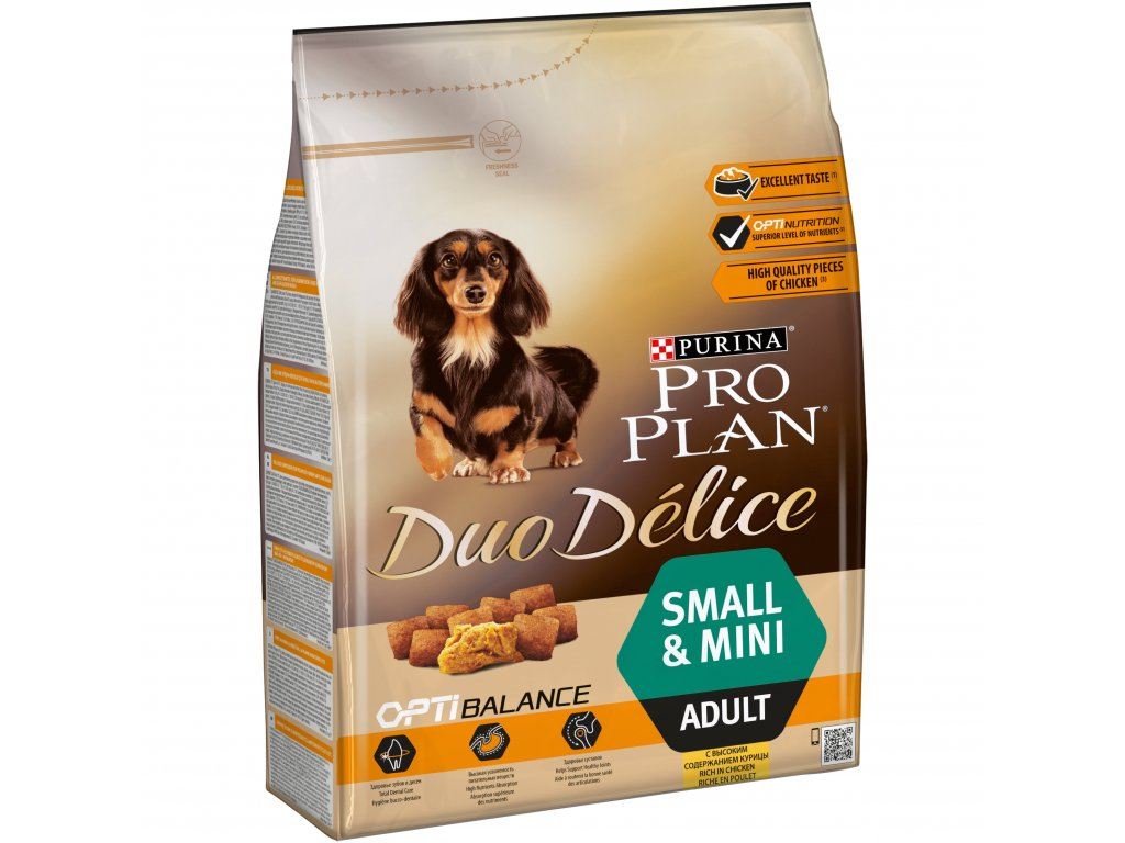 Purina Pro Plan Duo Delice Adult Small&Mini Chicken 2,5kg