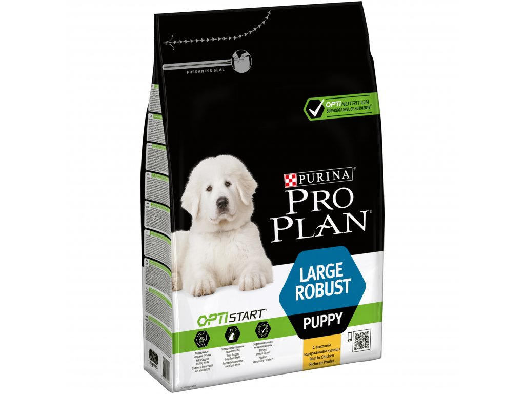 Purina Pro Plan Puppy Large Robust 3kg (expirace: 19.3.2021)