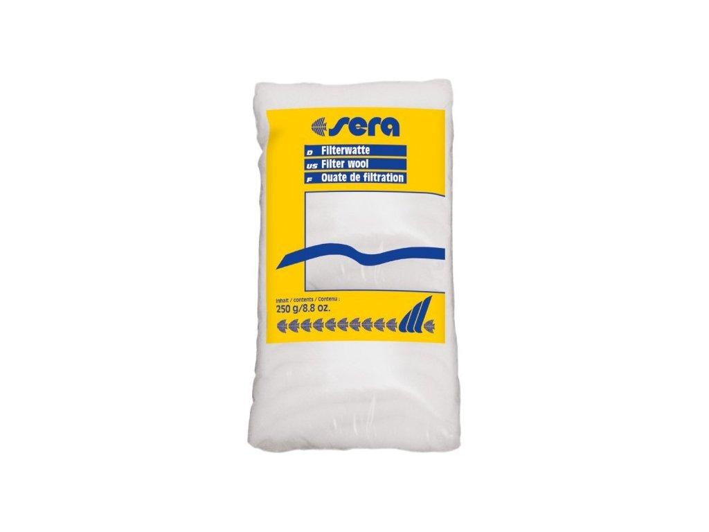 Sera filtrační vata bílá Filterwatte 250g