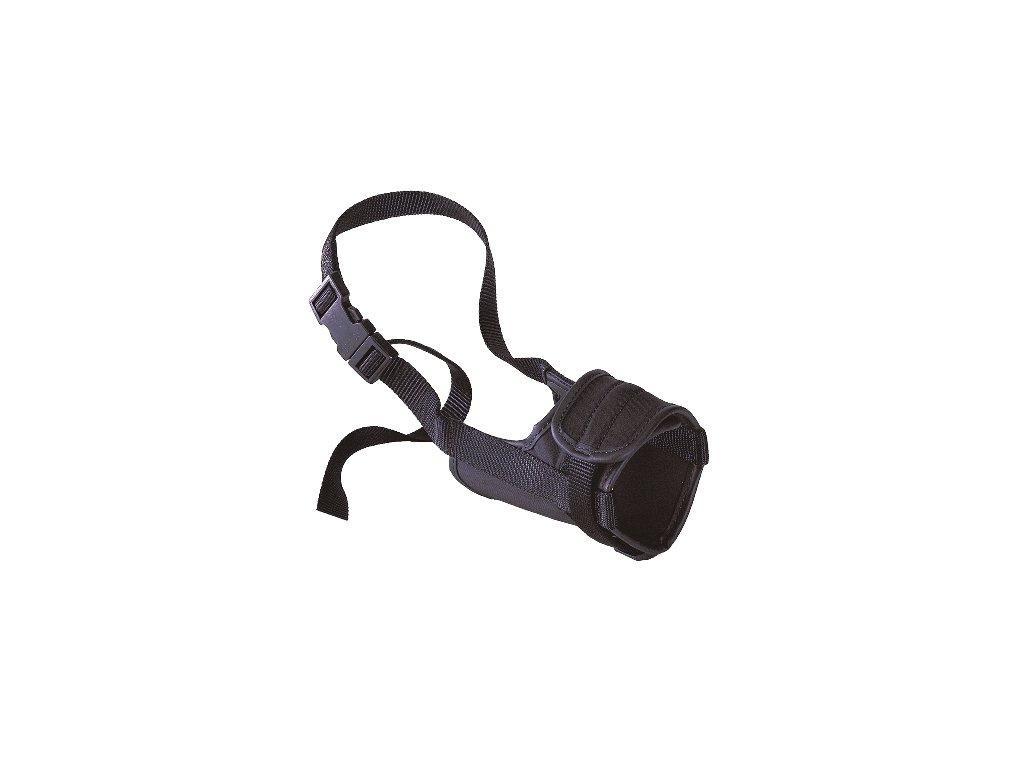 Ferplast náhubek SAFE nylonový černý mini