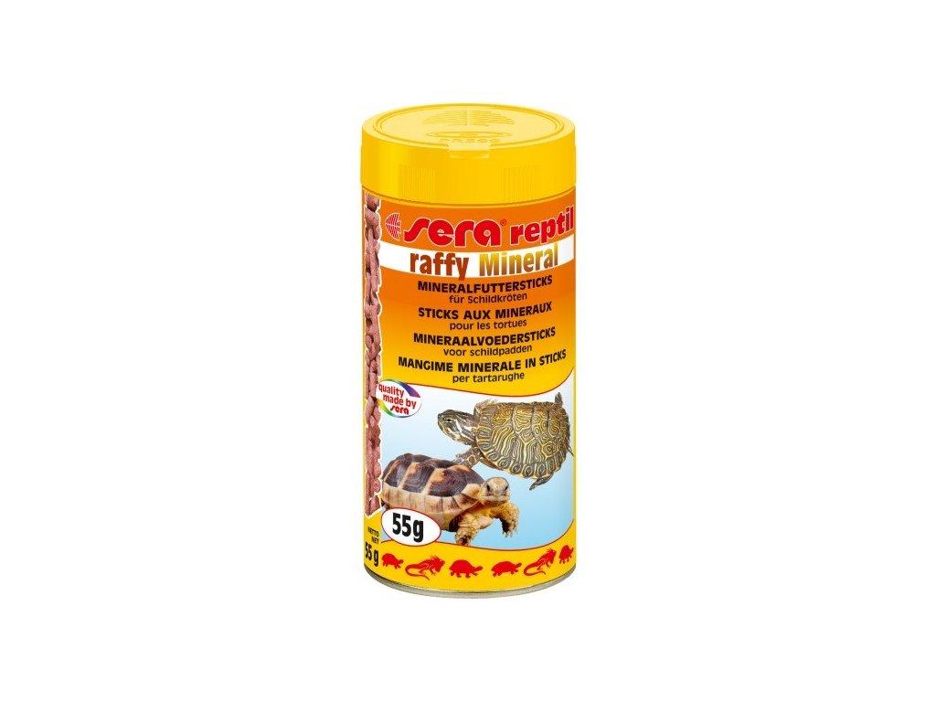 Sera krmivo pro masožravé plazy Raffy Mineral 250ml