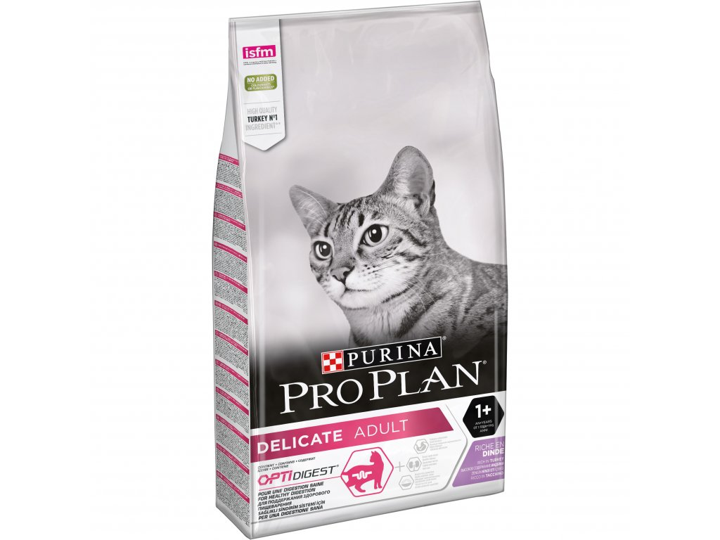 Purina Pro Plan Cat Delicate Turk. 10kg