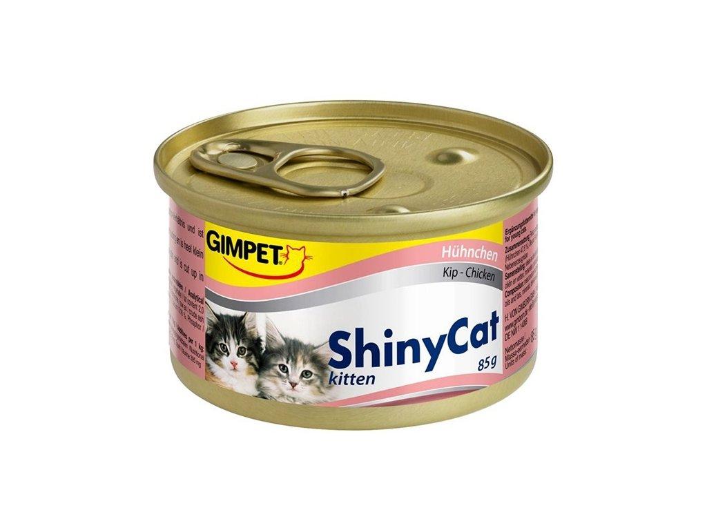 Konzerva ShinyCat kitten kuře 70g
