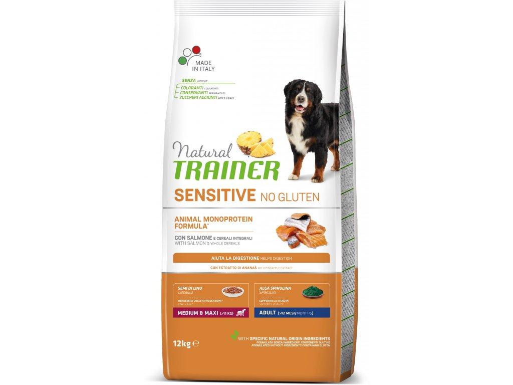 Trainer Sensitive No Gluten Adult M/M Fish&Maize 12kg
