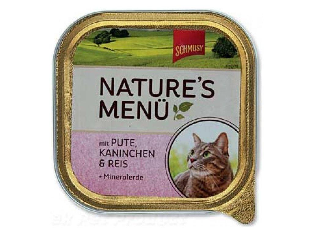Finnern Schmusy Nature paštika kuře+losos 100g