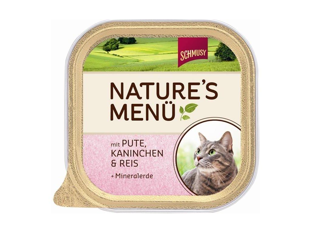 Finnern Schmusy Nature Kitten paštika telecí+drůbež 100g
